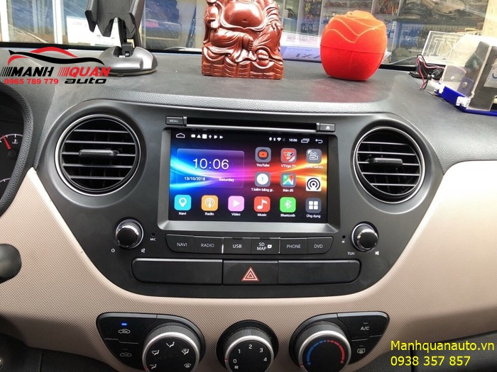 Báo Giá Đầu Android Zestech Công Nghệ Mới Cho Grand i10