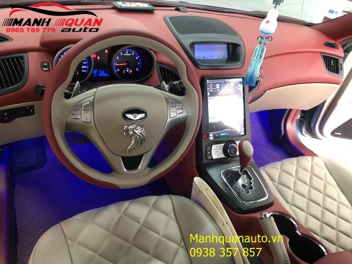Bọc Ghế Da - Đổi Màu Nội Thất Cho Hyundai Genesis | Mạnh Quân Auto