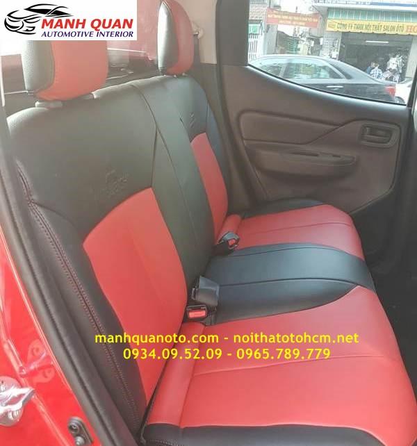 Bọc Ghế Da Xe Mitsubishi Triton 2017 | Đổi Màu Nội Thất Ô Tô