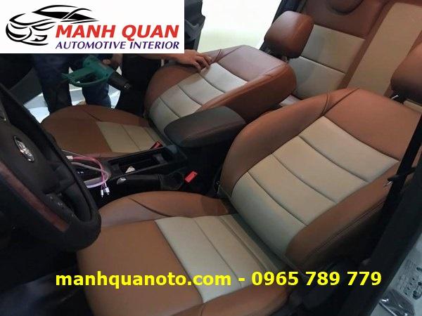Bọc Ghế Da Xe Toyota Land Cruiser 2017 | Đổi Màu Nội Thất Ô Tô