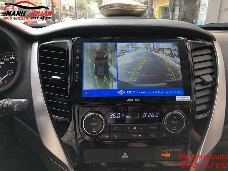 Camera 360 DCT Cho Mitsubishi Pajero Sport Bản T1