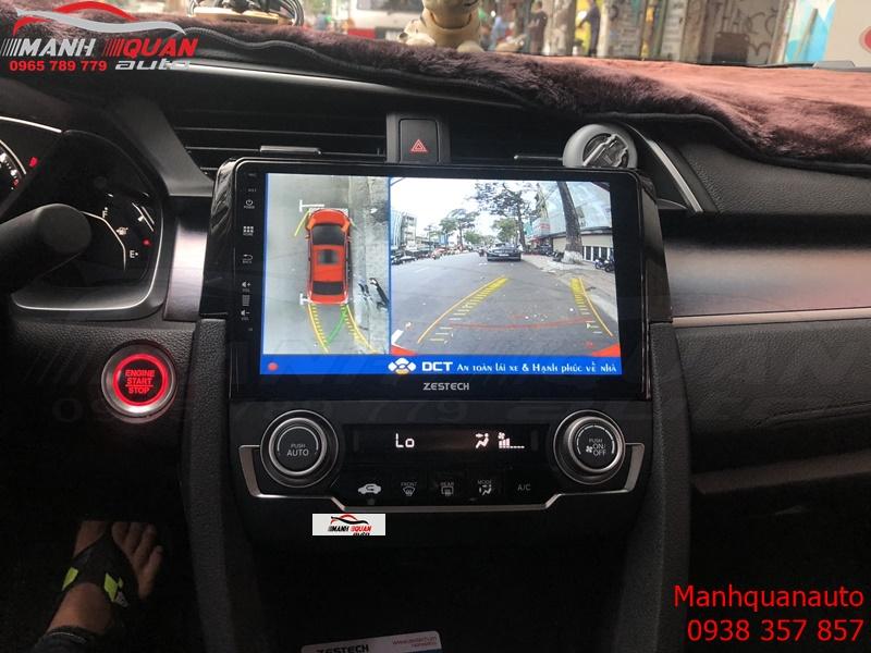 Camera 360 DCT Nhiều Tính Năng Thông Minh Cho Honda Civic