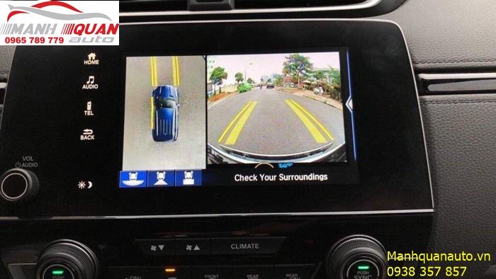 Camera 360 Độ Owin | Camera Mang Lại Đẳng Cấp Cho Honda CRV