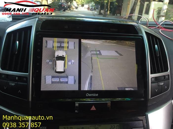 Camera 360 Độ Owin - Công Nghệ Cao Cấp Nhất Cho Land Cruiser
