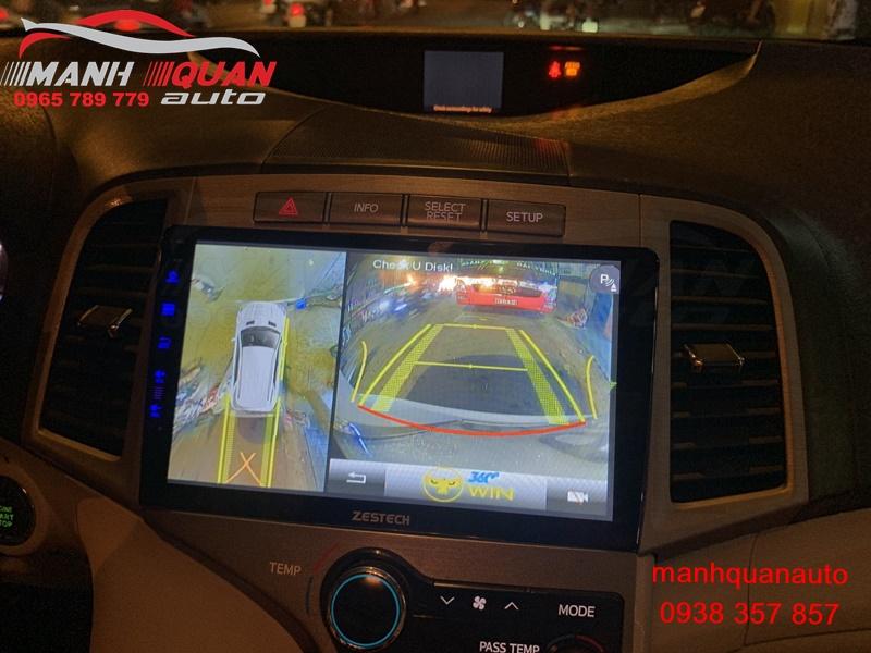 Camera 360 Owin Sony Cho Toyota Venza - Hình Ảnh Sắc Nét, Chân Thật