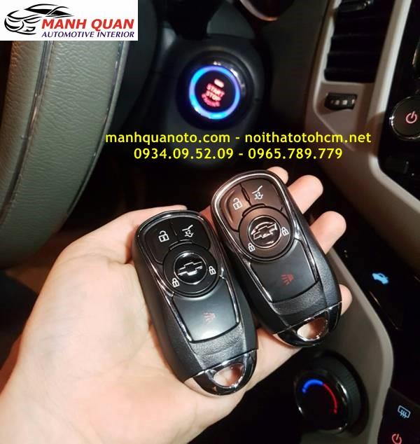 Chìa Khóa Thông Minh Smart Key Theo Xe Chevrolet Spark