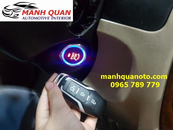 Chìa Khóa Thông Minh Smart Key Theo Xe Ford Ecosport