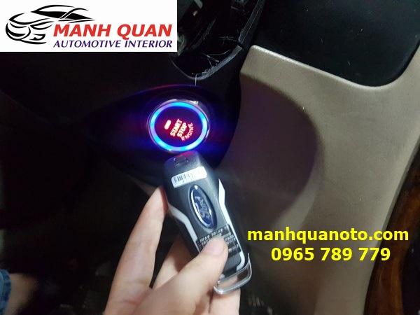 Chìa Khóa Thông Minh Smart Key Theo Xe Ford Fiesta