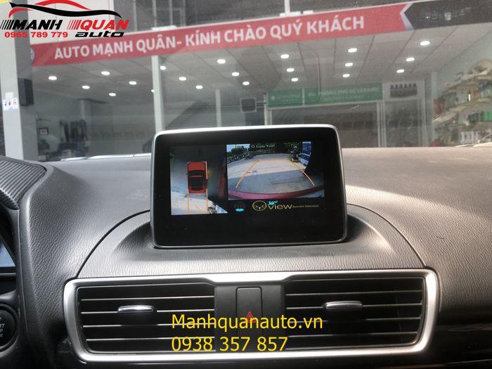 Cung Cấp Và Lắp Camera 360 Độ Oview Cao Cấp Cho Mazda 3 - Mạnh Quân Auto