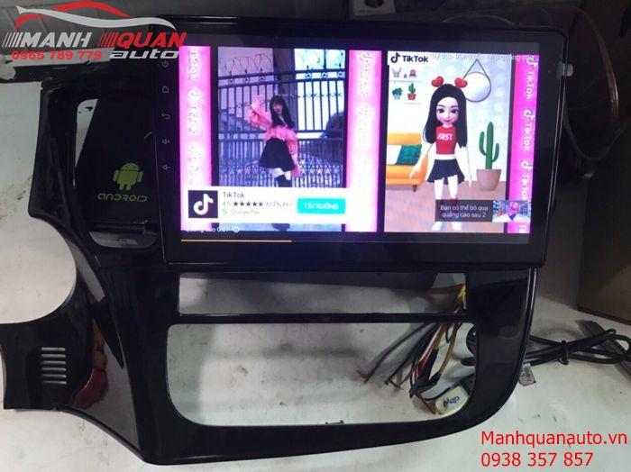 Cung Cấp và Lắp Đặt Màn Hình DVD Android Cao Cấp Cho Mitsubishi Outlander