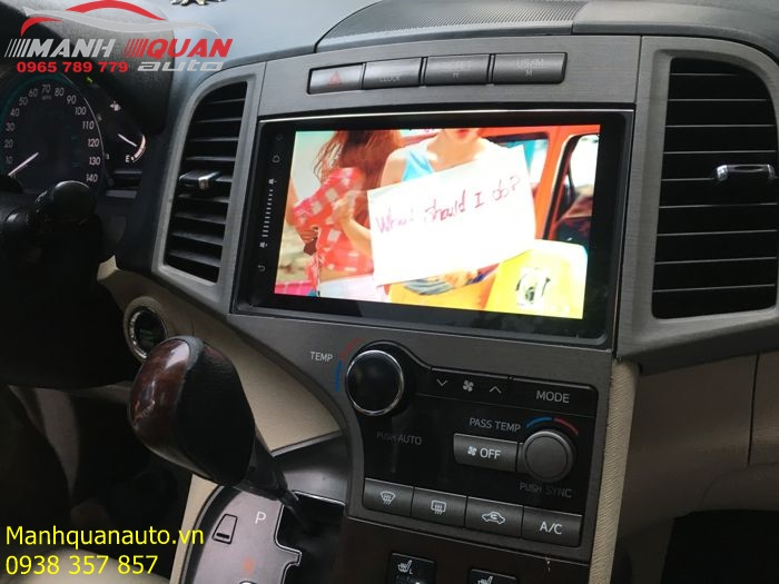 Cung Cấp Và Lắp Màn Hình Android Cho Toyota Venza | 0965789779