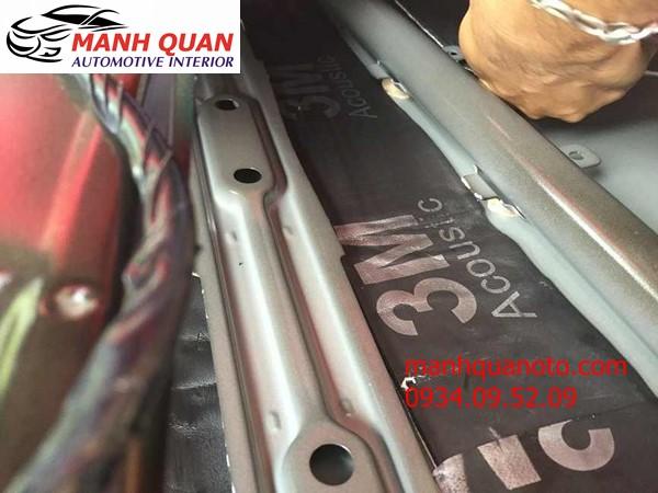 Dán Cách Âm Chống Ồn 3M Cao Cấp Cho Chevrolet Orlandp