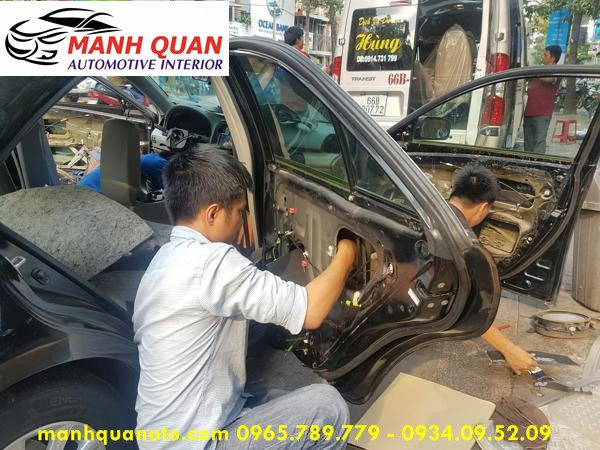 Dán Cách Âm Chống Ồn 3M Cao Cấp Cho Chevrolet Spark Duo