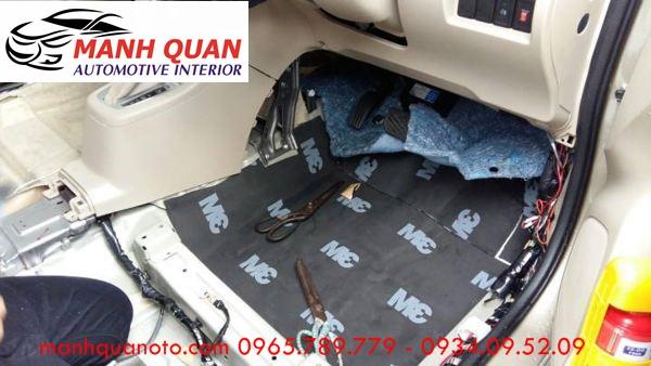 Dán Cách Âm Chống Ồn 3M Cao Cấp Cho Mazda 6 Tại Đồng Nai