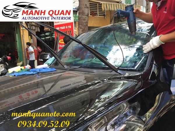 Dán Phim Cách Nhiệt Cho Xe BMW i3 | Mạnh Quân Ô Tô