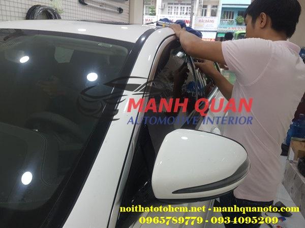 Dán Phim Cách Nhiệt Llumar Cho Mitsubishi Pajero Sport