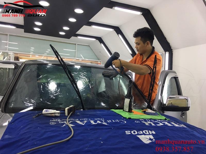 Dán Phim Cách Nhiệt Ntech Cho Xe Nissan Navara - Chống Nóng Hiệu Quả