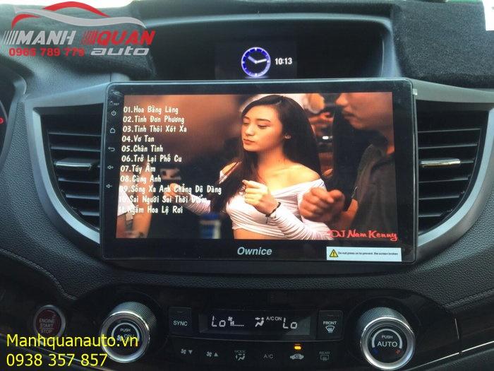Đầu Android Ownice C500+ Cao Cấp Cho Honda CRV | Mạnh Quân Auto