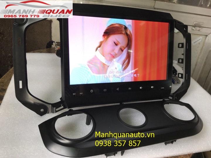 Đầu DVD Android Cao Cấp Giá Rẻ Cho Dòng Xe Chevrolet Trailblazer   0965789779