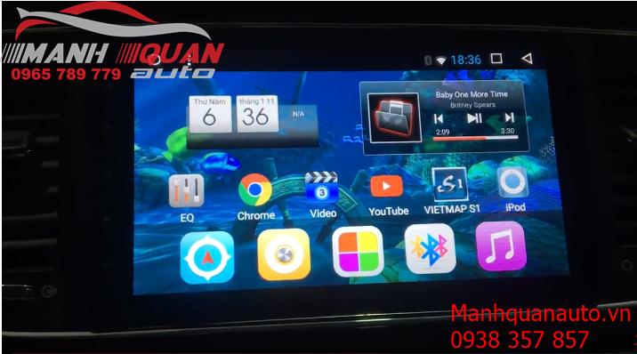 Đầu DVD Android Cao Cấp Giá Rẻ Cho Kia Sendona - Mạnh Quân Auto