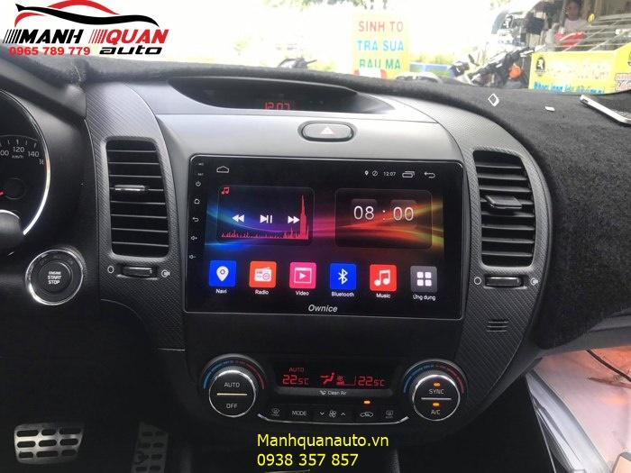 Đầu DVD Android Ownice C500+ Theo Xe Kia Cerato | Mạnh Quân Auto
