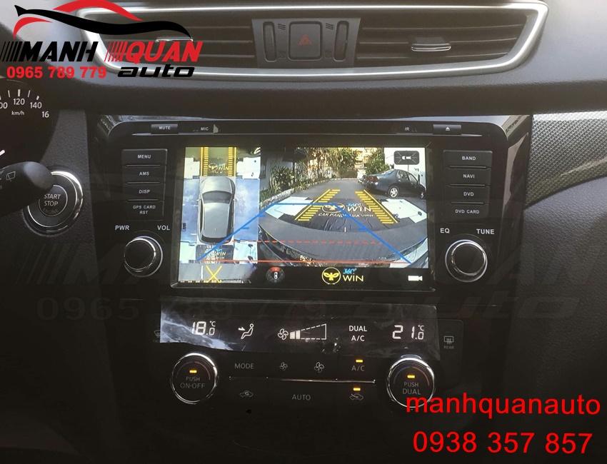 Địa Chỉ Lắp Đặt Camera 360 Owin 2D New Cho Nissan X Trail