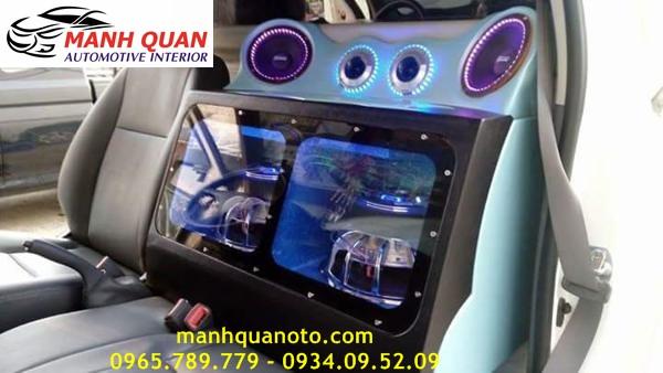 Độ Âm Thanh Cho Mitsubishi Grandis Chuyên Nghiệp