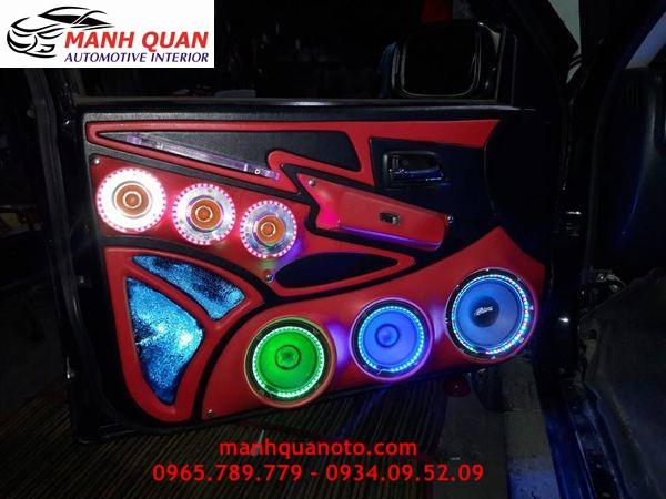 Độ Âm Thanh Cho Mitsubishi Triton Chuyên Nghiệp