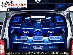 Độ Âm Thanh Cho Toyota Highlander