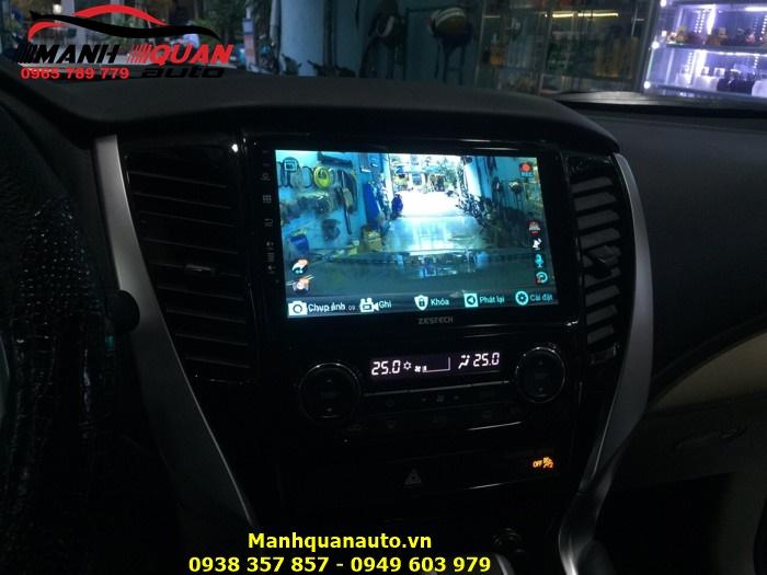 DVD Android Công Nghệ Nhật Hãng Zestech Cho Pajero Sport 2015
