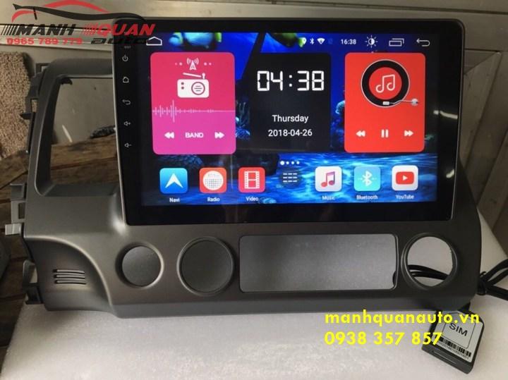 DVD Android Ô Tô - Màn Hình Android Cao Cấp Cho Honda Civic 2010