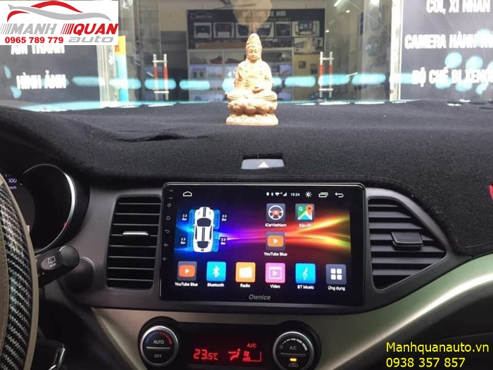 DVD Android Ownice C500+| Giá Rẻ Nhất Tp HCM| Kia Morning