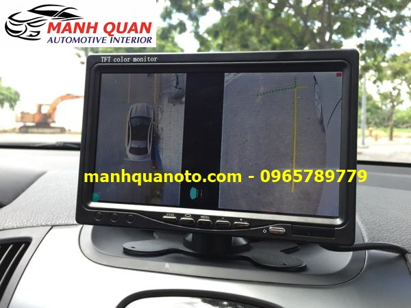 Lắp Camera 360 Độ Cho Honda Odyssey | Camera 360 Oview Hàn Quốc