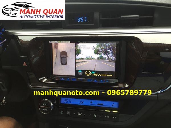 Lắp Camera 360 Độ Cho Hyundai Creta   Camera 360 Oview Hàn Quốc
