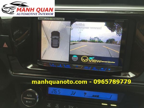 Lắp Camera 360 Độ Cho Hyundai Elantra   Camera 360 Oview Hàn Quốc