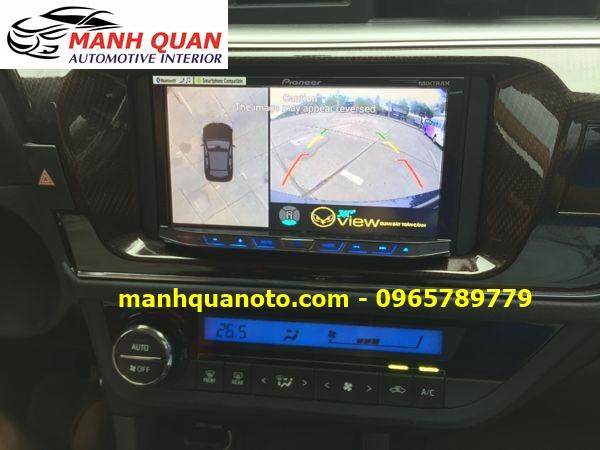 Lắp Camera 360 Độ Cho Hyundai i30 | Camera 360 Oview Hàn Quốc