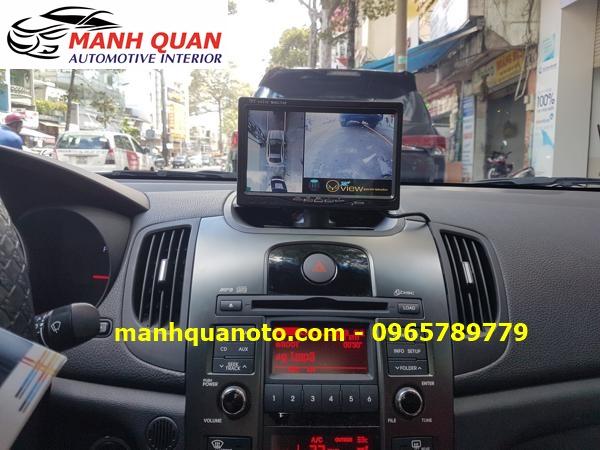 Lắp Camera 360 Độ Cho Hyundai Sonata   Camera 360 Oview Hàn Quốc