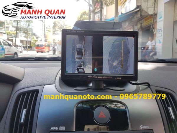 Lắp Camera 360 Độ Cho Hyundai Starex | Camera 360 Oview Hàn Quốc