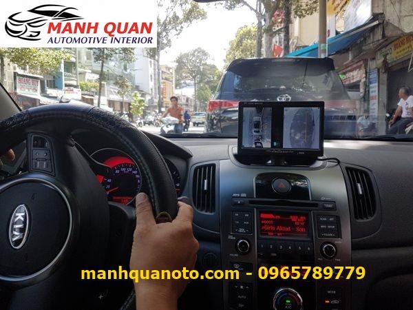 Lắp Camera 360 Độ Cho Kia Sedona | Camera 360 Oview Hàn Quốc