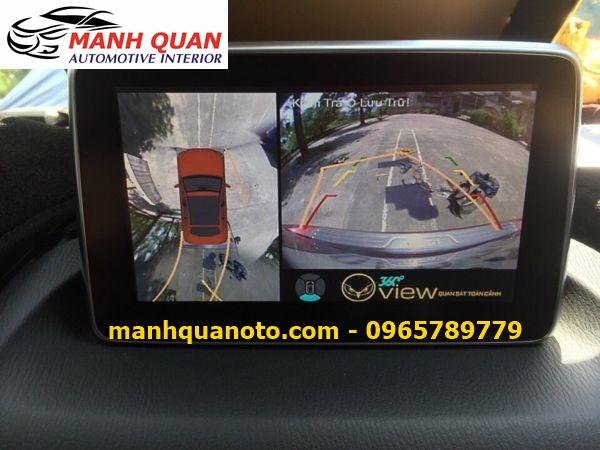Lắp Camera 360 Độ Cho Mazda 3 | Camera 360 Oview Hàn Quốc