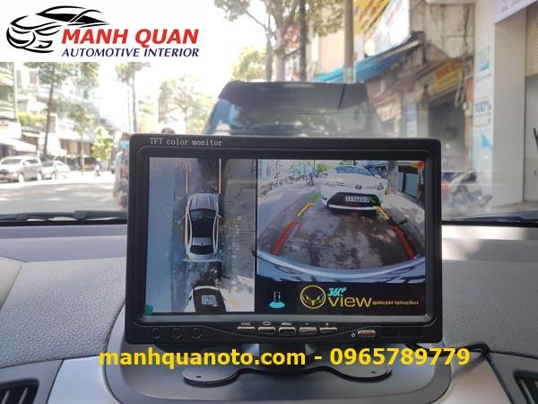 Lắp Camera 360 Độ Cho Toyota Sienna   Camera 360 Oview Hàn Quốc