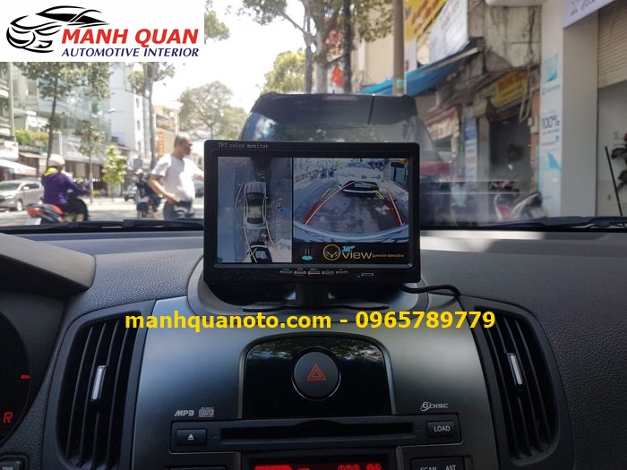 Lắp Camera 360 Độ Cho Toyota Yaris   Camera 360 Oview Hàn Quốc