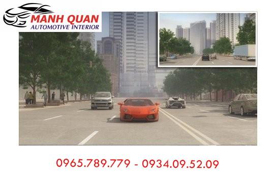 Lắp Camera Hành Trình Gương VietMap G68 Cho Chevrolet Spark Duo