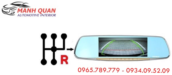 Lắp Camera Hành Trình Gương VietMap G68 Cho Nissan Murano