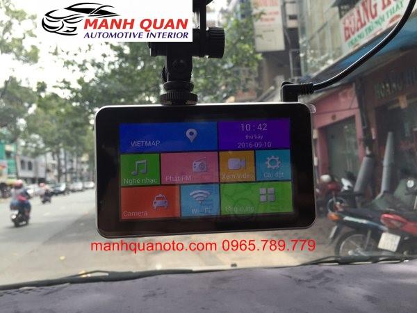 Lắp Camera Hành Trình Quay Trước Sau Cho Xe Toyota Yaris