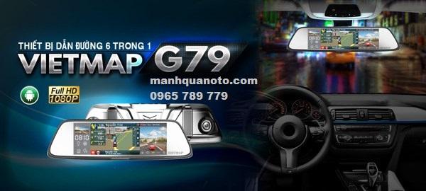 Lắp Camera Hành Trình VietMap G79 Cho Hyundai Santafe | 0965789779
