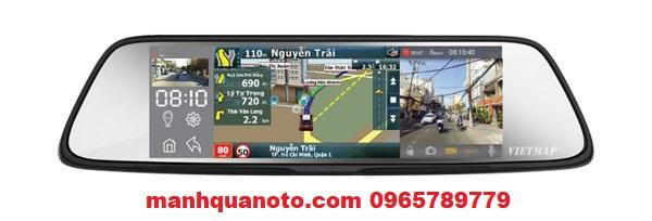 Lắp Camera Hành Trình VietMap G79 Cho Mitsubishi Outlander | 0965789779