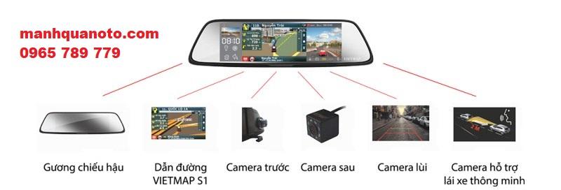 Lắp Camera Hành Trình VietMap G79 Cho Toyota Innova   0965789779