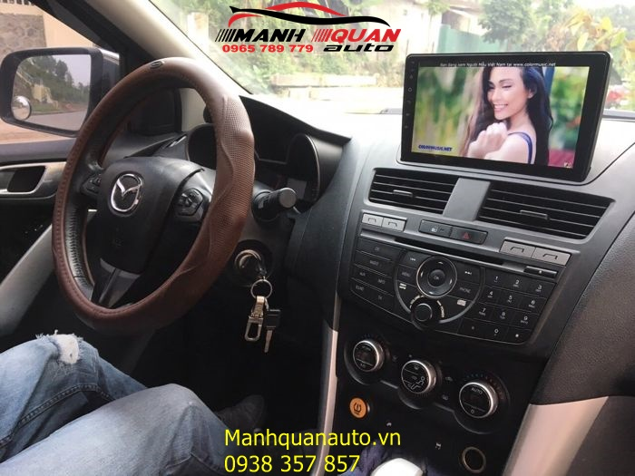 Lắp Đầu DVD Android Cao Cấp Cho Xe Ô Tô Mazda Bt 50 | 0965789779