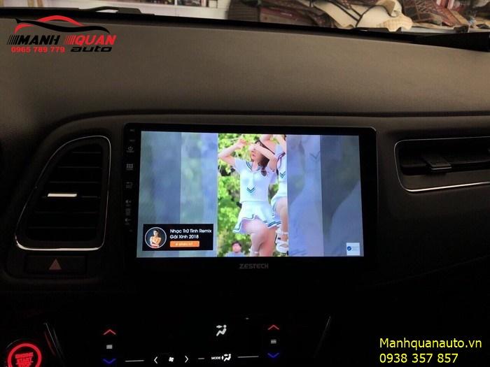 Lựa Chọn Màn Hình Android Cao Cấp Cho Honda HRV - DVD Zestech